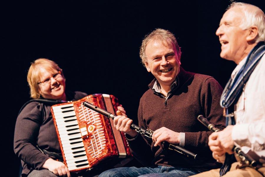 Ann Conboy, Michael Conboy and Joe Byrne