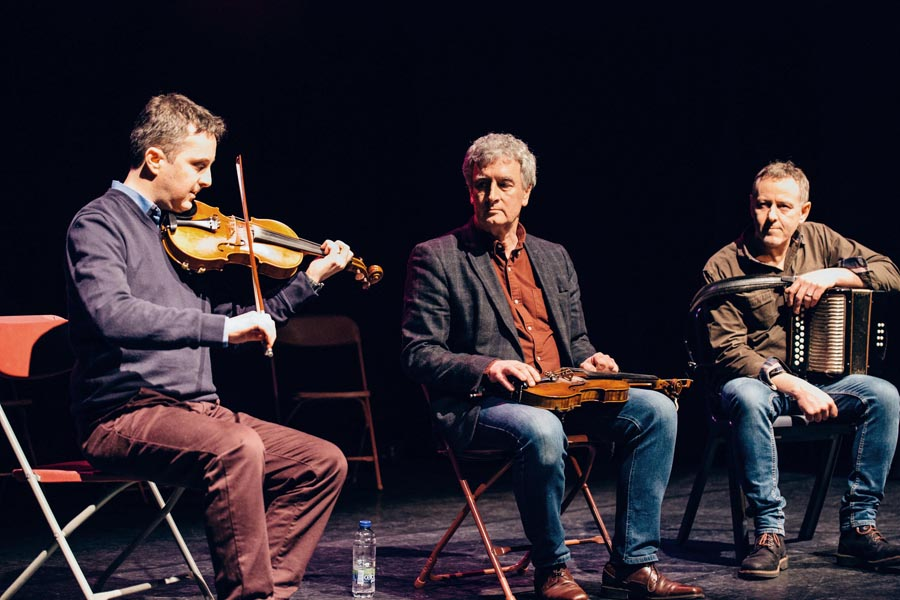 John McEvilly, John McHugh and Tom Doherty