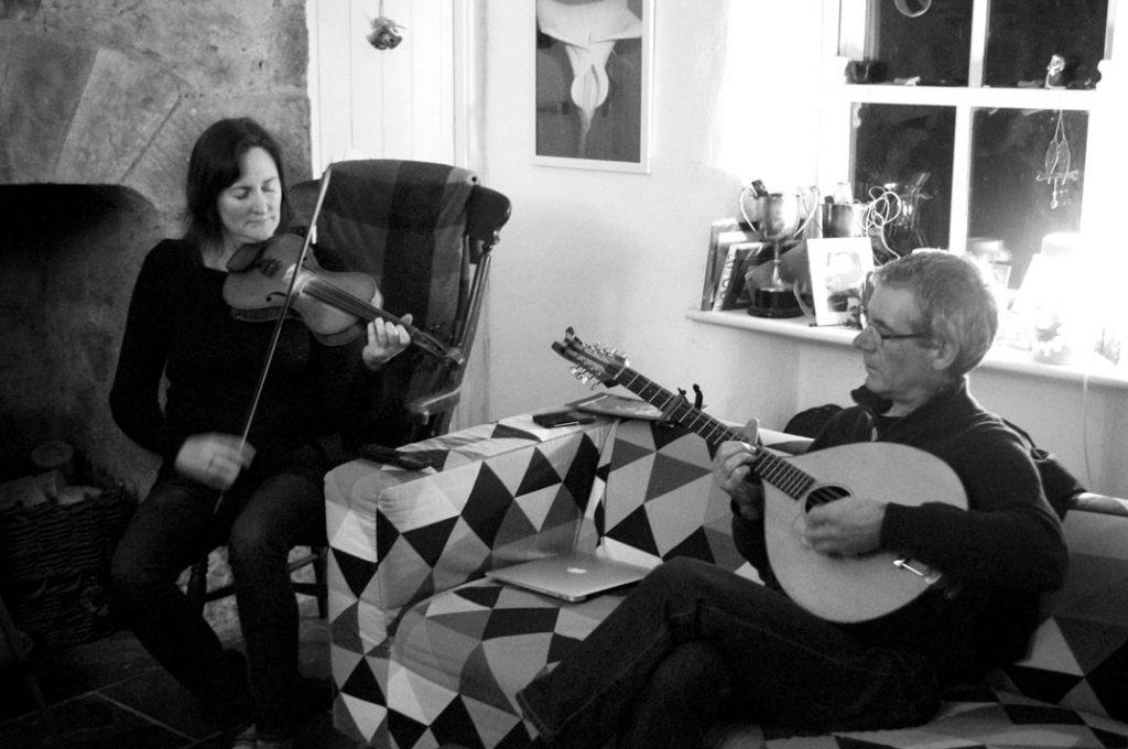 Julie Langan and Noel O'Grady
