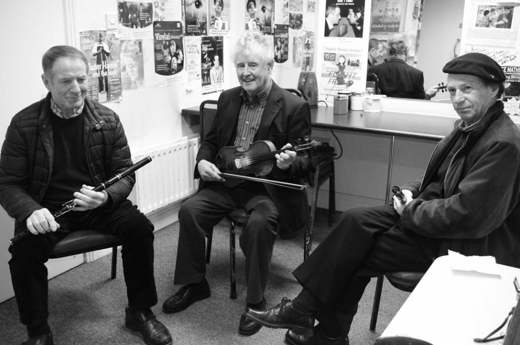 Michael Loftus, Jimmy Murphy and Gregory Daly